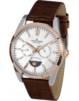 Jacques Lemans Liverpool Moonphase 1-1901C